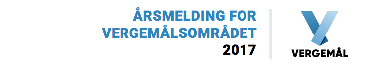 Årsmelding for vergemålsområdet 2017