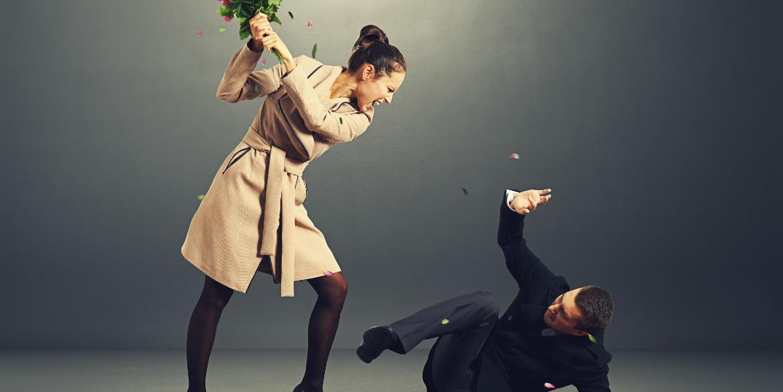 Vold og trusler i vergemål