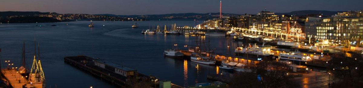 Utsikt fra kontorene hos Fylkesmannen i Oslo og Akershus