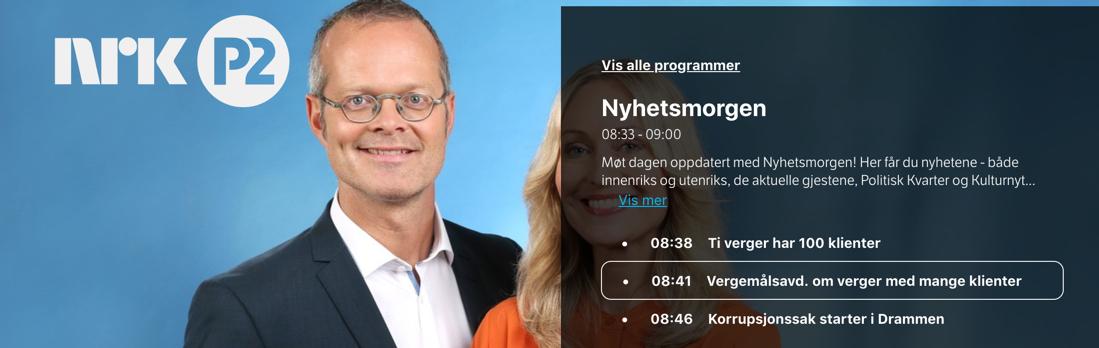 Vergemål på NRK P2 om verger med mange oppdrag – Fylkesmannen i Oslo og Viken er tydelig på sin støtte til verger med mange oppdrag